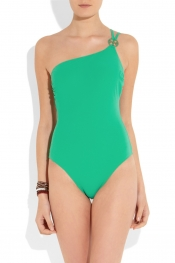 TORY BURCH One-shoulder swimsuit