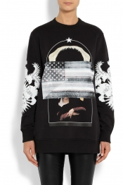 GIVENCHY Multi-print sweatshirt