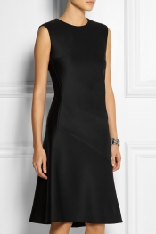 JIL SANDER Stretch-neoprene dress