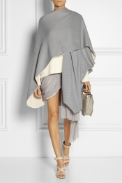 PRABAL GURUNG Reversible cashmere shawl