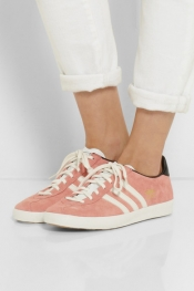 ADIDAS ORIGINALS Gazelle DG suede and leather sneakers