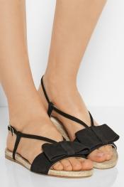 PALOMA BARCELÓ Suede espadrille sandals