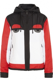 FENDI Creatures hooded shell ski jacket