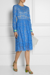 PREEN BY THORNTON BREGAZZI Hayden guipure lace dress