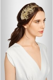 ROSANTICA Coralli gold-tone headband