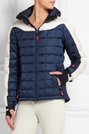 PERFECT MOMENT Inuq quilted shell down ski jacket