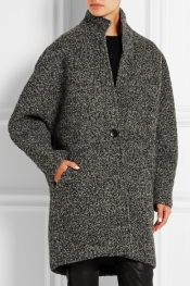 ISABEL MARANT Daryl oversized bouclé coat
