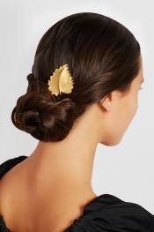 DOLCE & GABBANA Gold-tone hairclip