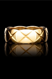CHANEL FINE JEWELRY Small 18-karat yellow gold ring