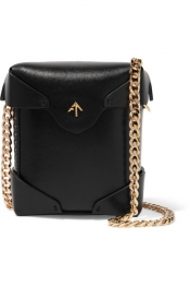MANU ATELIER Pristine micro leather shoulder bag