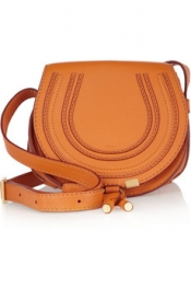 CHLOÉ The Marcie mini leather shoulder bag