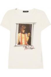 DOLCE & GABBANA Printed jersey T-shirt