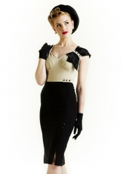 1930s inspired Harlow dress