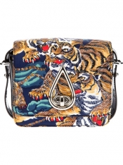 KENZO tiger print handbag