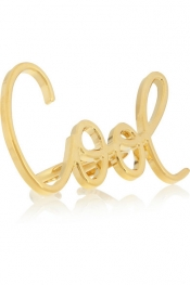 LANVIN Stephanie gold-tone ring