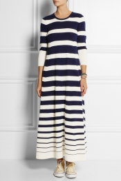 MADELEINE THOMPSON Timeless cashmere and silk-blend maxi dress