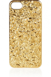 MARC BY MARC JACOBS 3D foil-effect iPhone 5 case