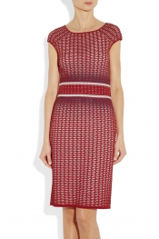 MISSONI Textured-knit dress