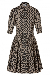 MOSCHINO C&C Cotton Swing Dress