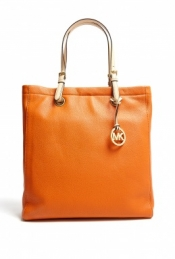 Michael Michael Kors Tangerine Jet Set North South Tote
