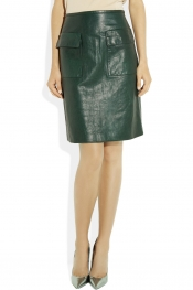 3.1 PHILLIP LIM Textured-leather skirt