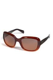 PRADA Acetate Square-Shaped Sunglasses