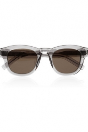 SAINT LAURENT Bold 2 D-frame acetate sunglasses