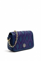 TORY BURCH NIGHT SKY ROBINSON CHAIN MINI SHOULDER BAG