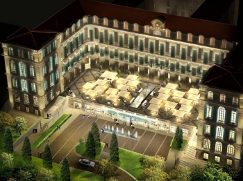Jean-Philippe Nuel réalise l'architecture d'intérieur de l'Intercontinental Marseille Hôtel-Dieu