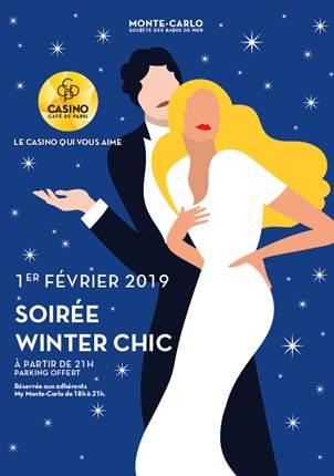 Winter Chic Event at Casino Café de Paris
