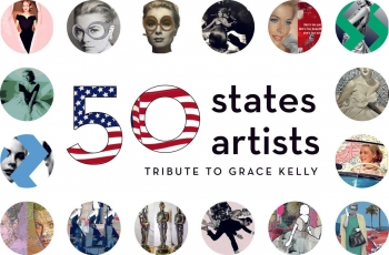 Tribute to Grace Kelly in Monaco