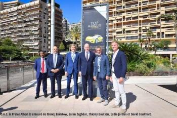 Royal Start at Top Marques Monaco 2019