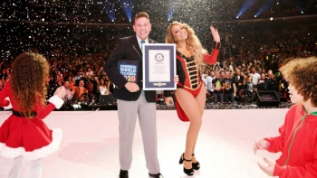 Mariah Carey and Her Three Guinness Book of World Records