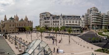 Inauguration of the Place du Casino in Monaco