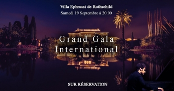 Win two tickets to an amazing Gala event in St Jean Cap Ferrat