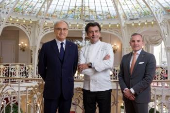 Arrivée de Yannick Alléno au Hôtel Hermitage Monte-Carlo