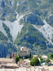 Greolieres, magnifique village medieval