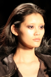 Celebrity style guide - Vera Wang hairstyle and make up at New York FW 11