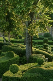 The suspended gardens of Marqueyssac