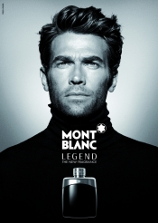 The legend by Mont Blanc