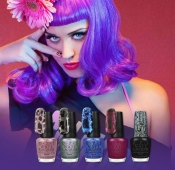 Beauty tips and trends - Kate Perry dazzling nail collection at OPI