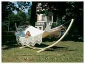 Relax yourself in a hammock