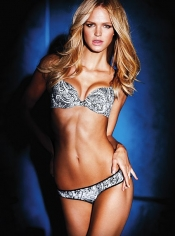 Le Bustier Showstopper noir Victoria's Secret