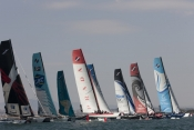 Extreme Sailing Series at Nice