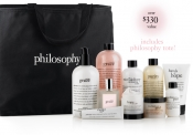 Win 1 of 10 gift sets from philosophy