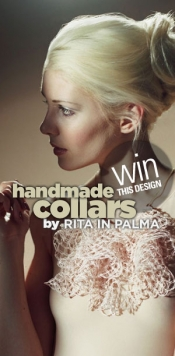 Win Grace Kelly handmade collar