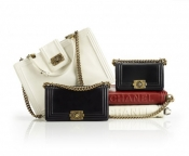 Designer handbags - Chanel boyish collection