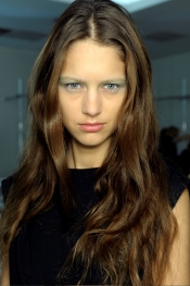 Latest fashion trends - Balenciaga Hairstyle trend SS 2012