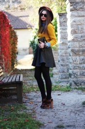 Trendy autumn look
