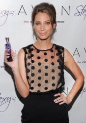 Christy Turlington Burns, the face of Avon's new fragrance: Step Into Sexy